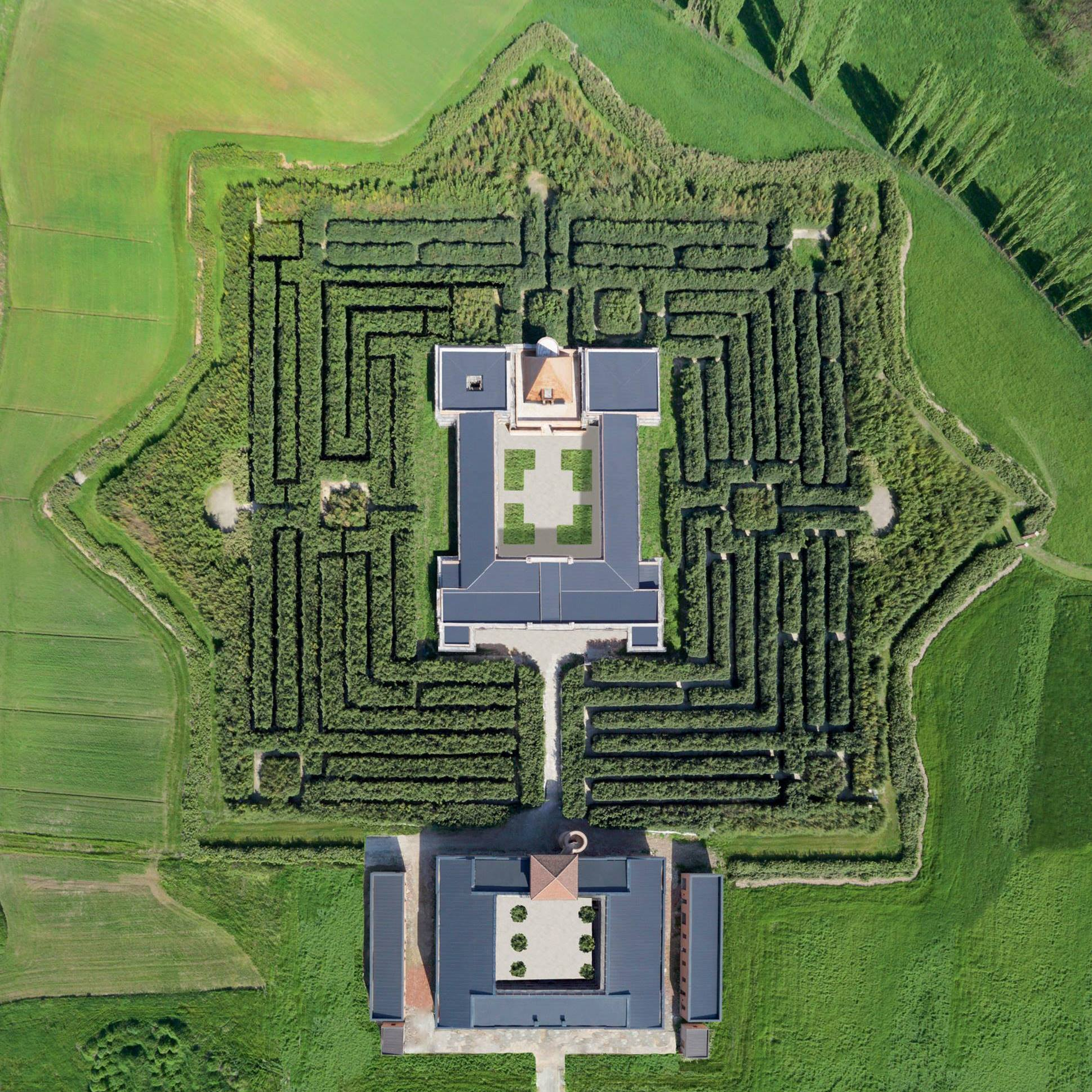 Labirinto della Masone di Franco Maria Ricci, a Fontanellato