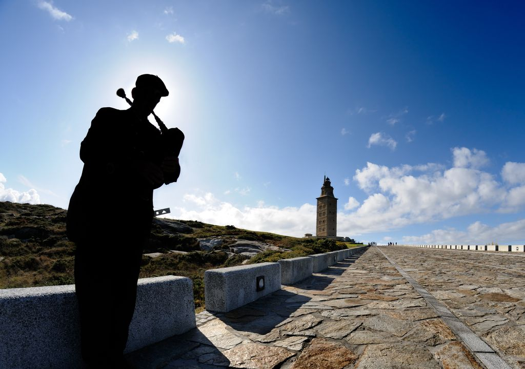 Musicisti a Tower of Hercules
