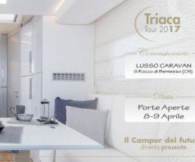 Triaca Tour presso Lusso Caravan