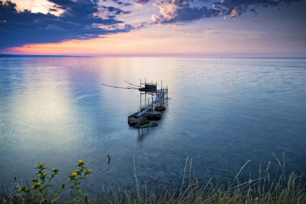 Tramonto sulla costa ph Roberto Lalli
