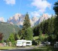 Camping Vidor in Val di Fassa