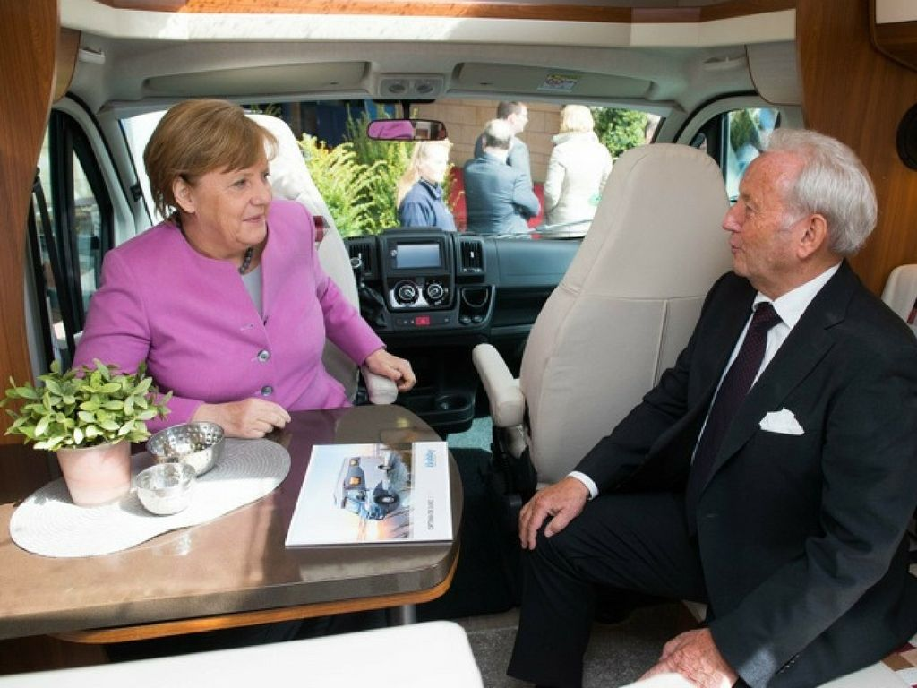 Festa Hobby Angela Merkel