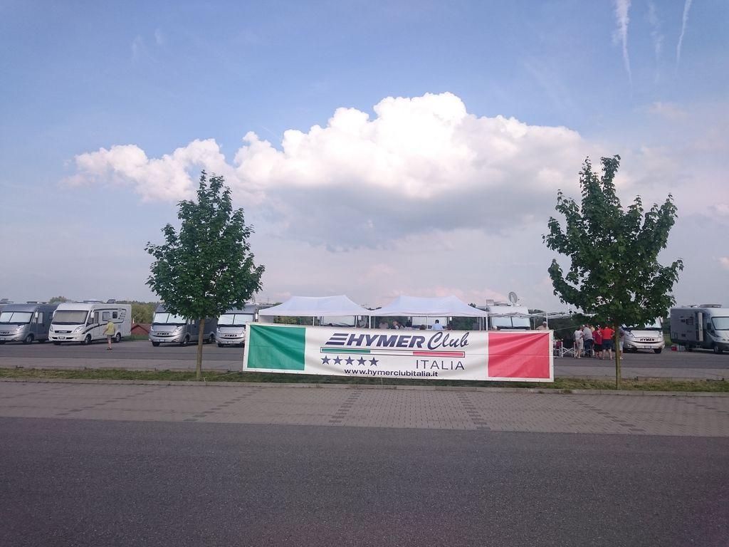 Hymer Club Italia a Bad Waldsee