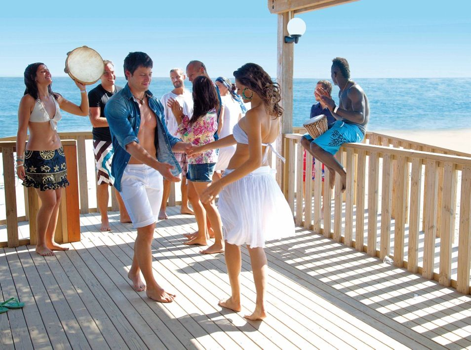 Villaggio Barricata bar sulla spiaggia