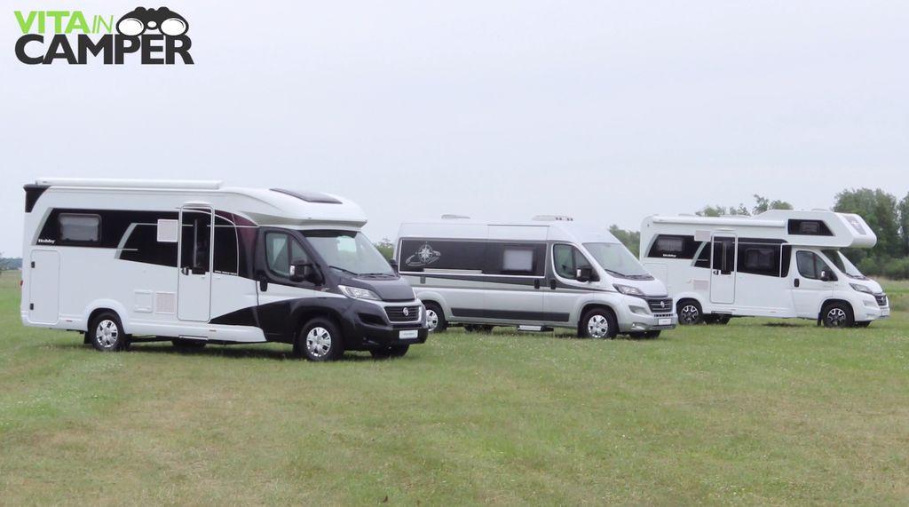 hobby Camper Caravan 2018
