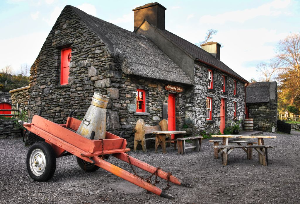 tipico cottage irlandese
