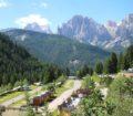 vista dall'alto Camping Vidor