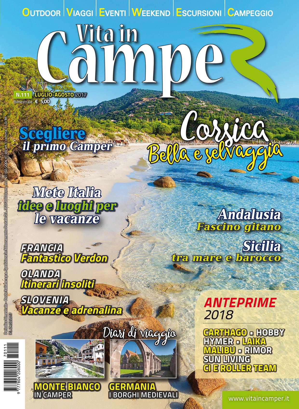 Copertina Vita in Camper 111