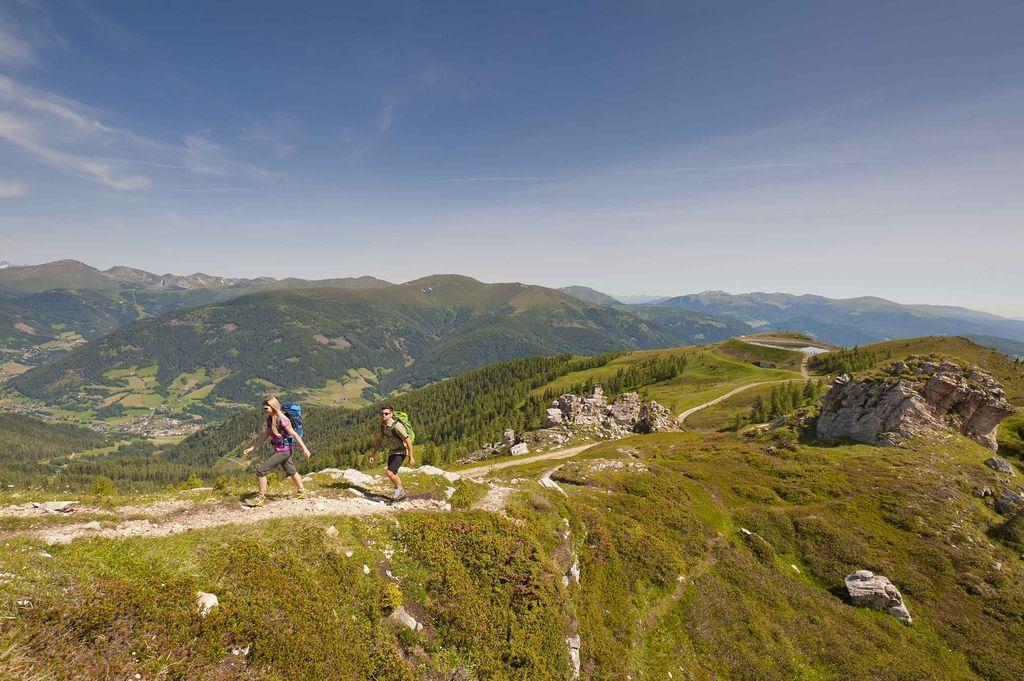 Copyright Karnten Werbung Franz Gerdl Alpe Adria Trail - Nockberge