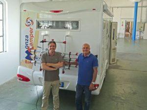 Monzacamper, i titolari Vito e Antonio Furcillo