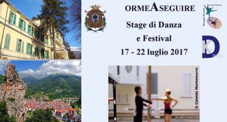 ormeAseguire: sei giorni di danza tra Piemonte e Liguria