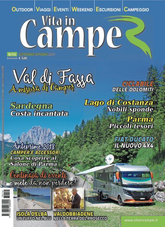 Copertina Vita in Camper 112