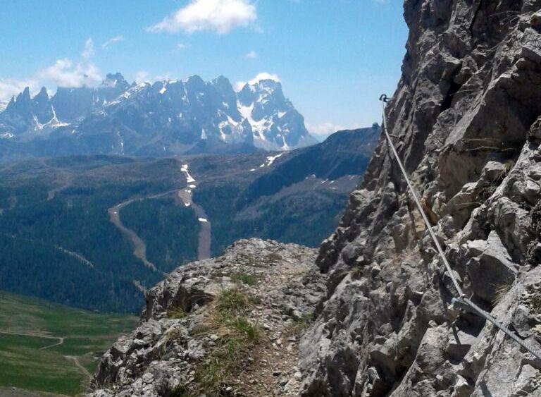 Ferrata Passo San Pellegrino