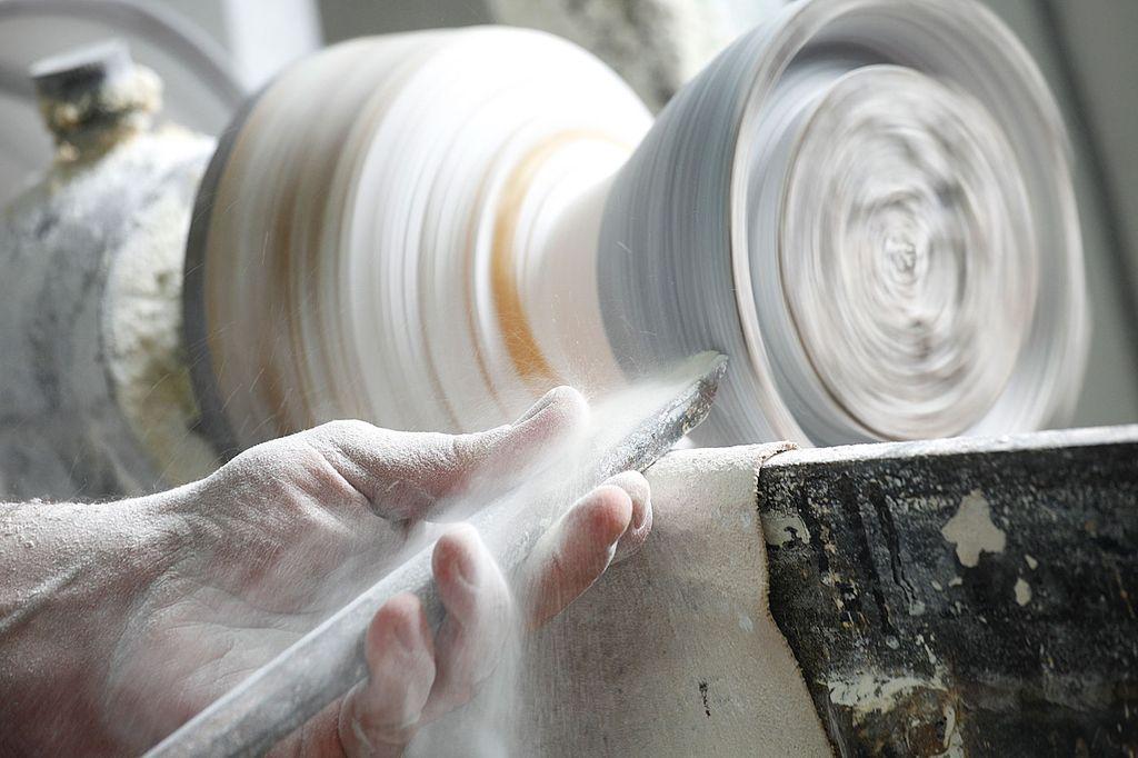 lavorazione alabastro