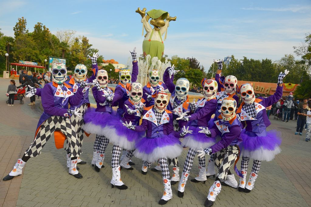 Gardaland Magic Halloween animazione