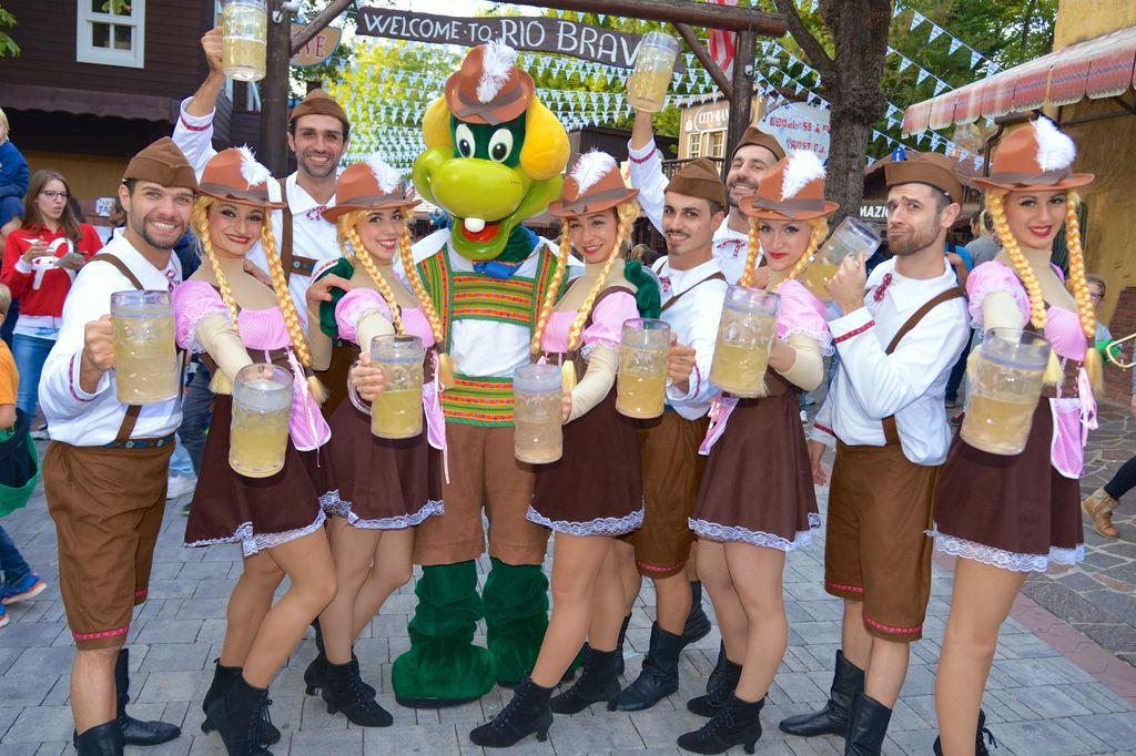 Gardaland Oktoberfest in costume