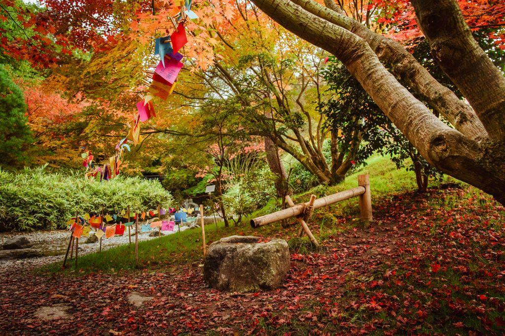 Giardini di Sissi in autunno