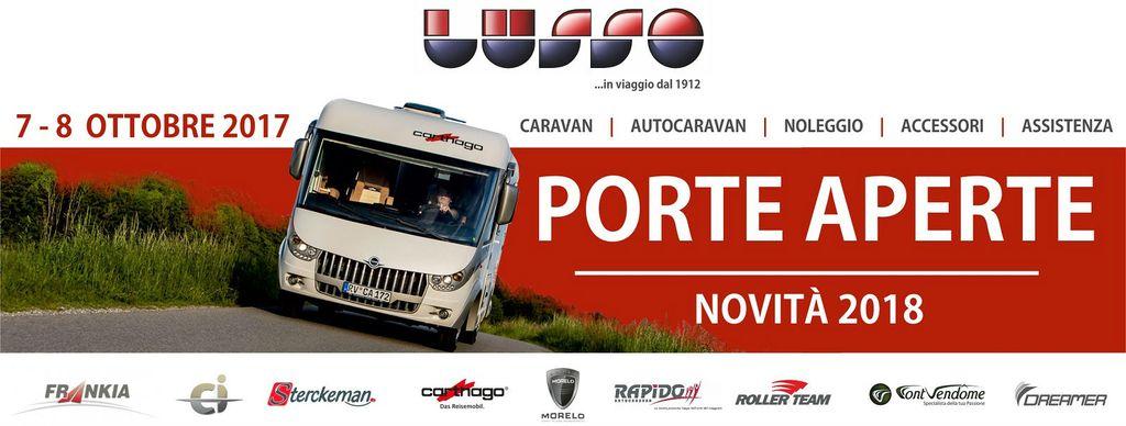 Porte Aperte 7-8- ottobre 2017 da Lusso Caravan