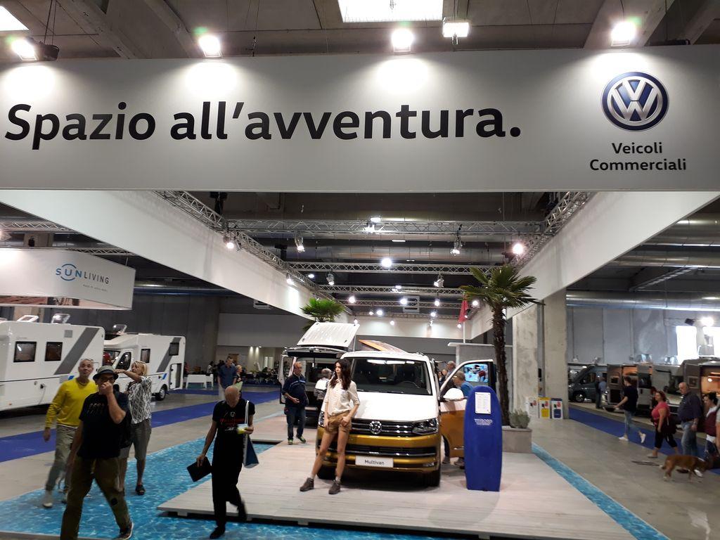 stand Volkswagen pad. 3 Salone del Camper 2017