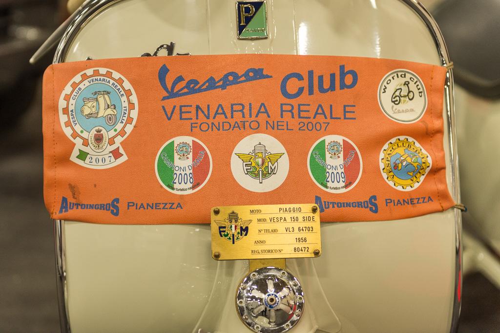 A Tutto Camper-esposizione Vespa Club Venaria Reale