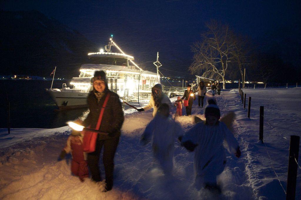 Seeweihnacht am Achensee