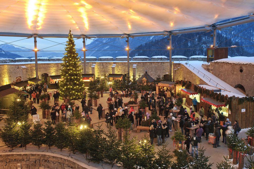Fortezza Kufstein a Natale
