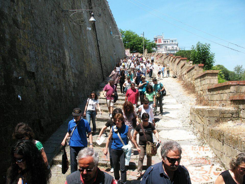 Napoli TrekkUrbano Pedamentina di San Martino