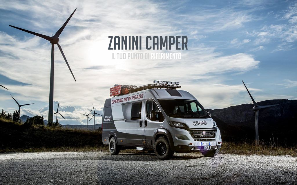 Zanini Camper porte aperte