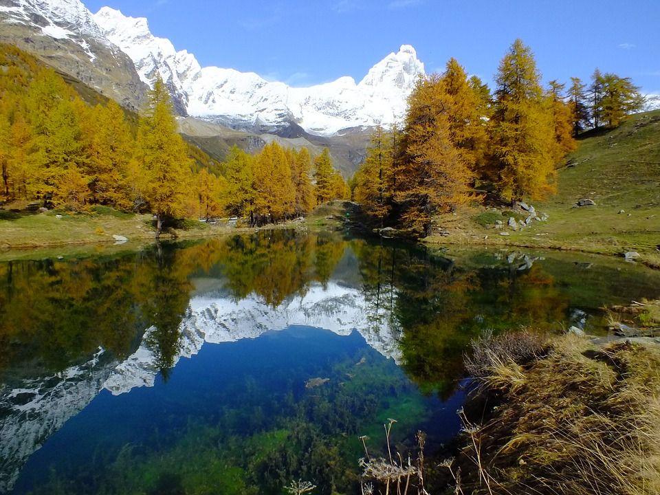 autunno in Valle d'Aosta