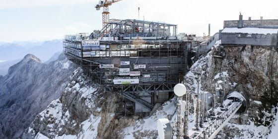 funivia per la Zugspitze