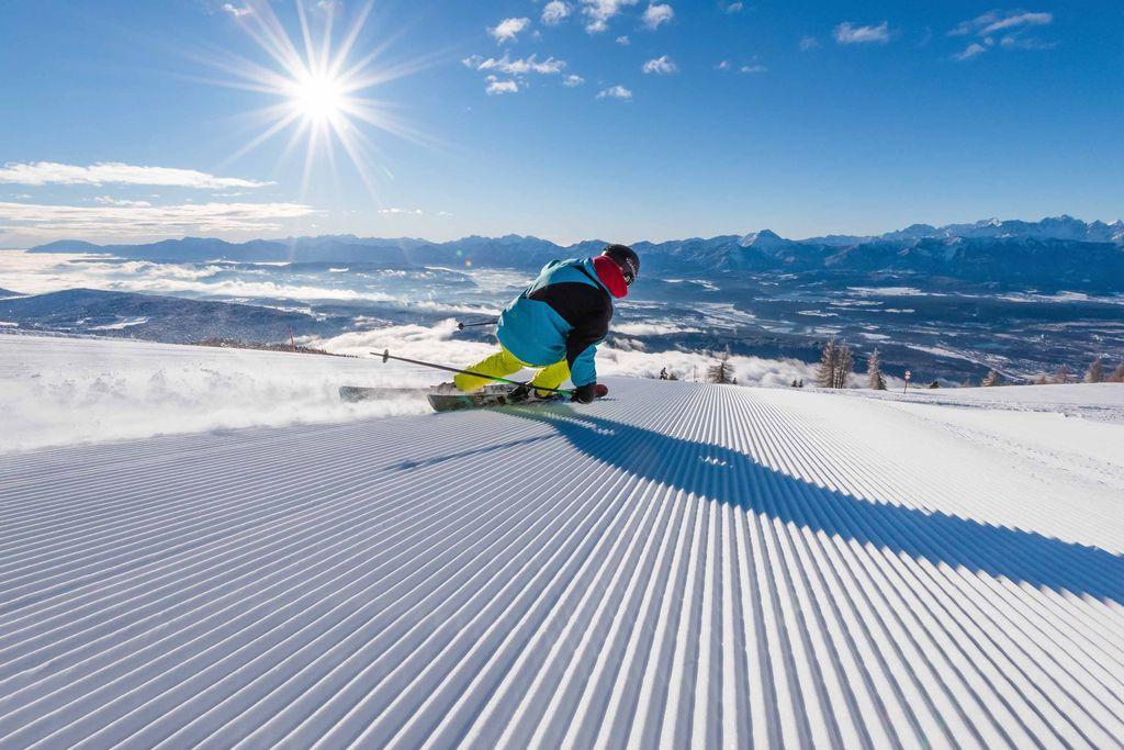 Copyright Region Villach Tourismus GmbH Michael Stabentheiner Gerlitzen Alpe Skifahren