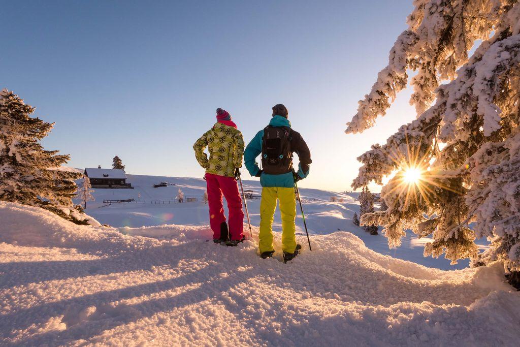 Copyright Region Villach Tourismus Schneeschuhandern Naturpark Dobratsch Michael Stabentheiner