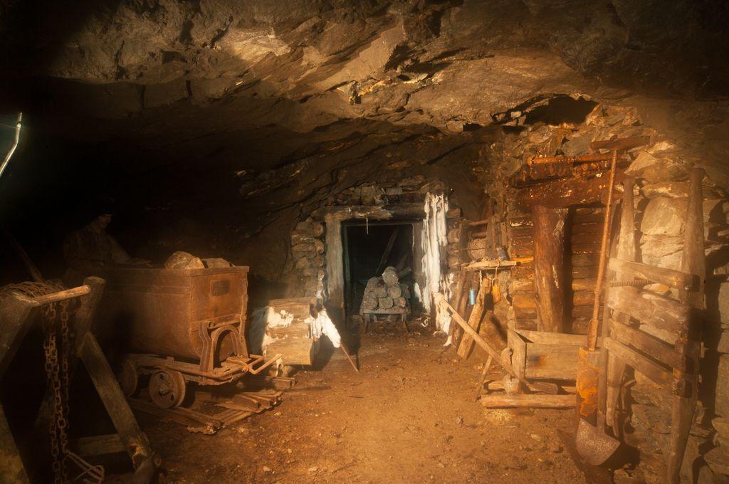 Miniera d'oro Guia