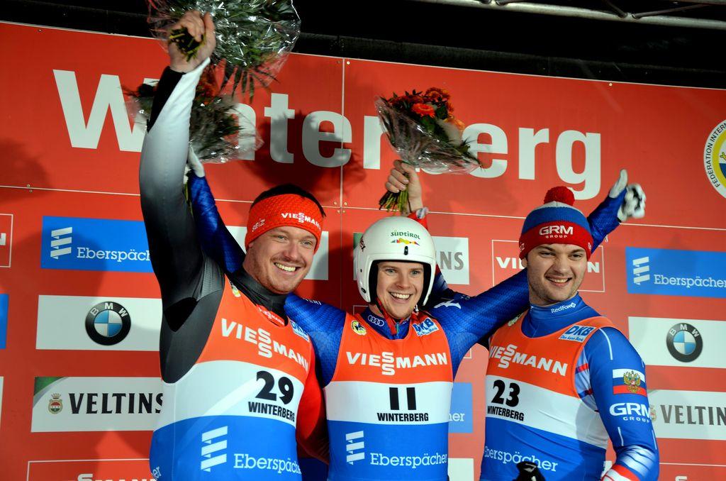 A Winterberg Kevin Fischnaller vince il singolo maschile di slittino