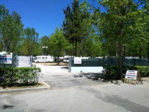 Area camper Cesenatico