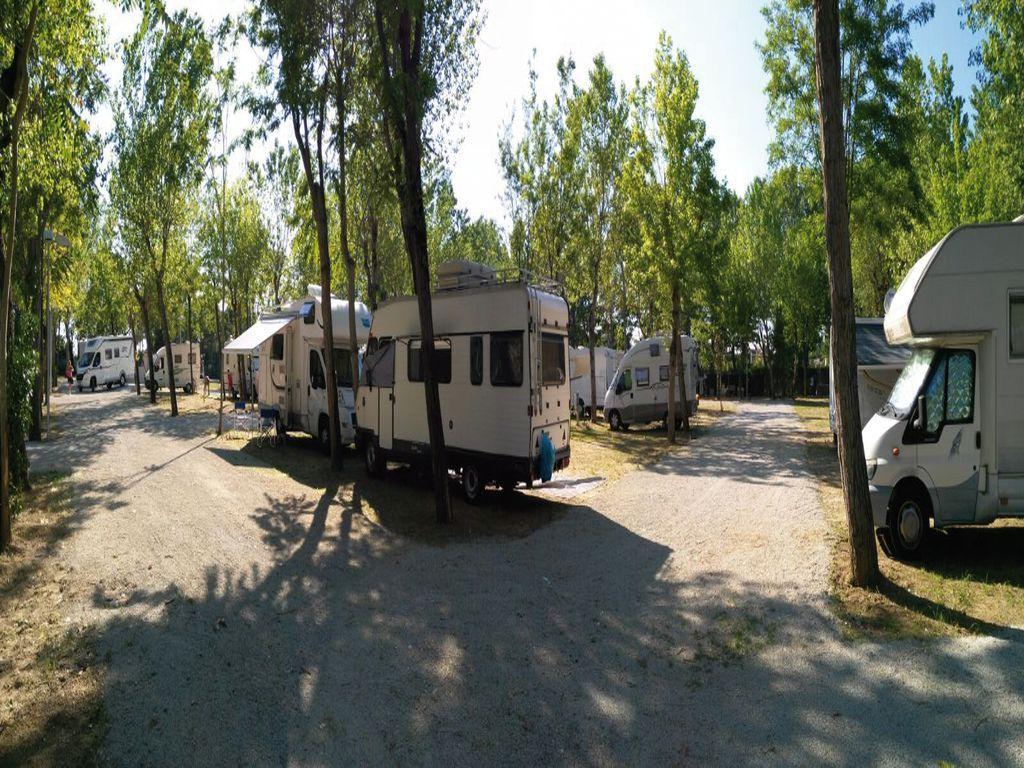 Area camper Cesenatico, piazzole