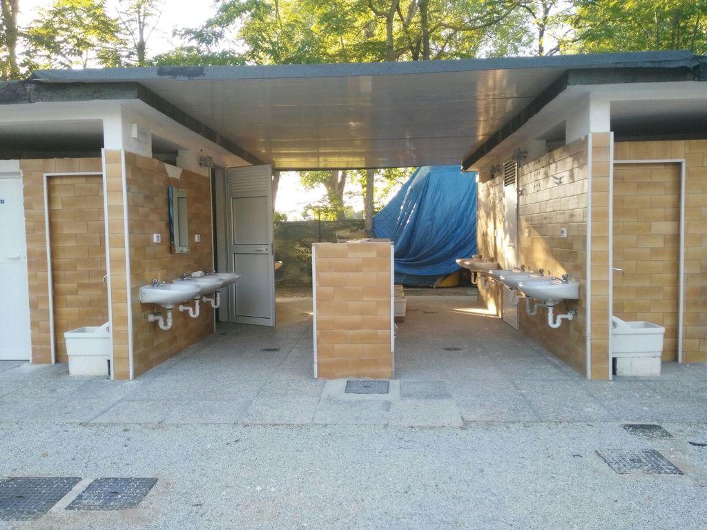 Area camper Cesenatico, toilette