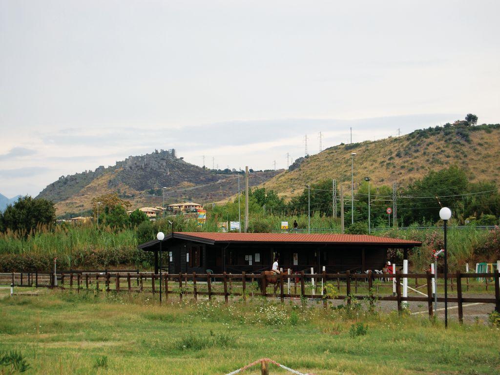 Area sosta Camper Cirella