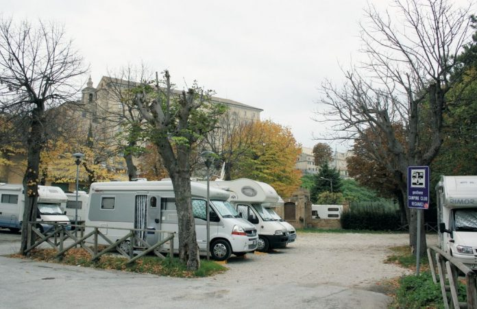 Area sosta Recanati