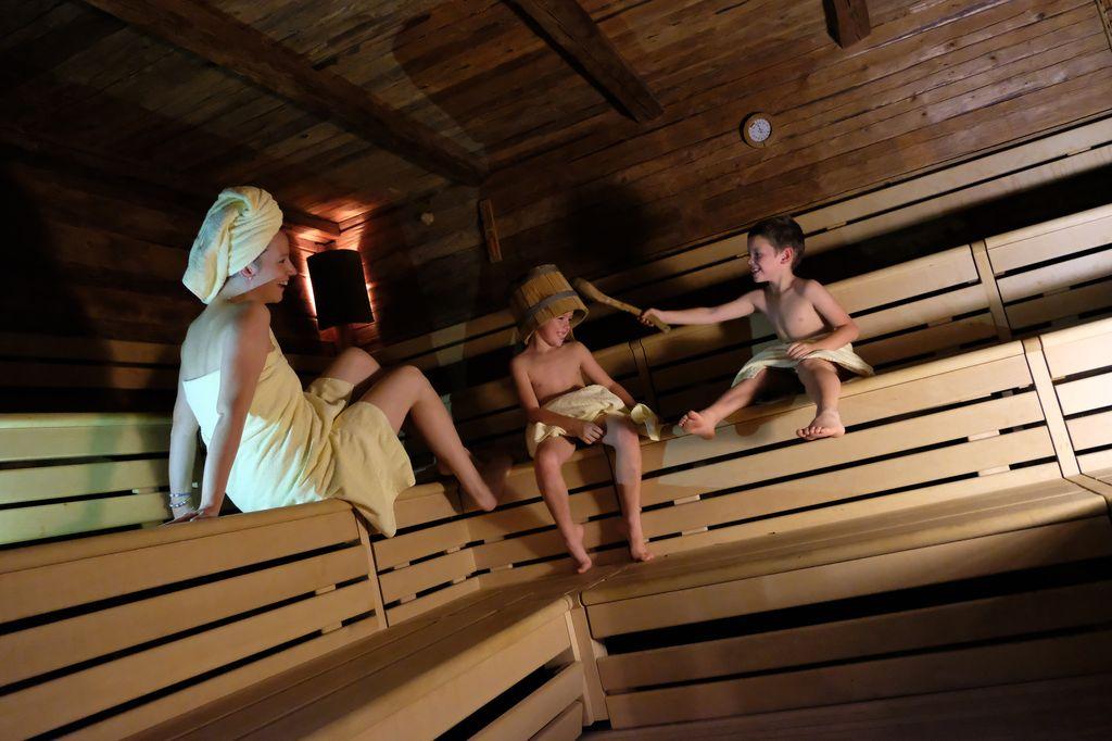Camping Vidor & Wellness Resort sauna per tutti