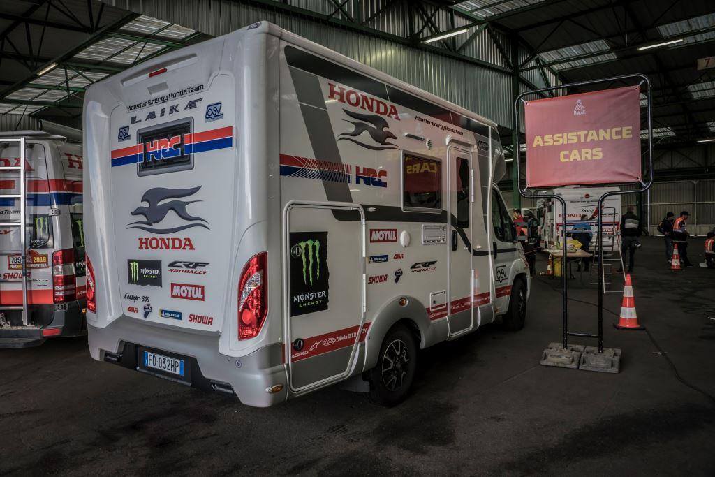 Laika Ecovip 305 per Dakar18