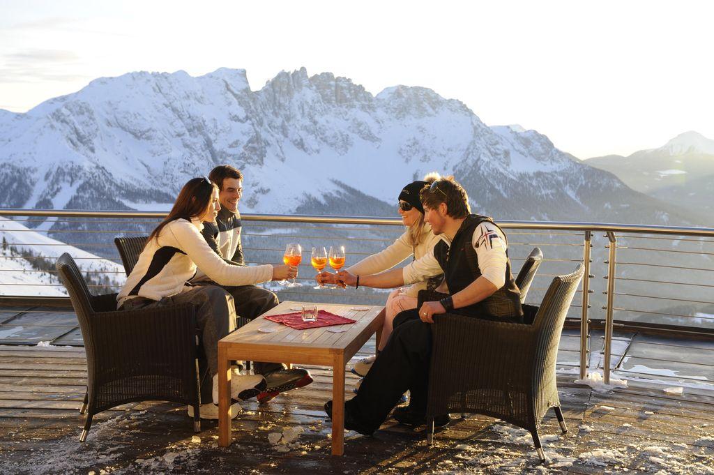 Val D'Ega - Apertivo alla Laurins Lounge