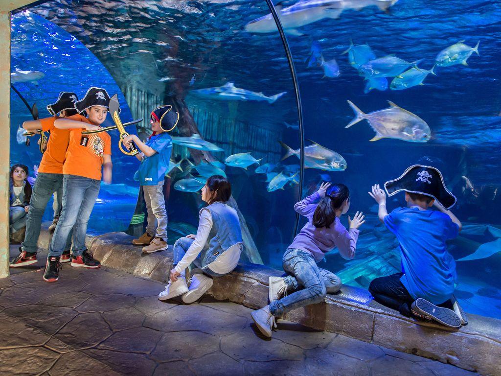 Carnevale 2018 a Gardaland SEA LIFE Aquarium