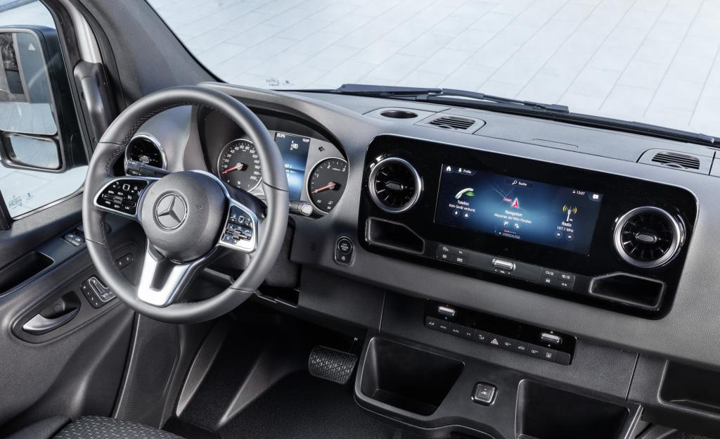 Mercedes-Benz Sprinter – Interno