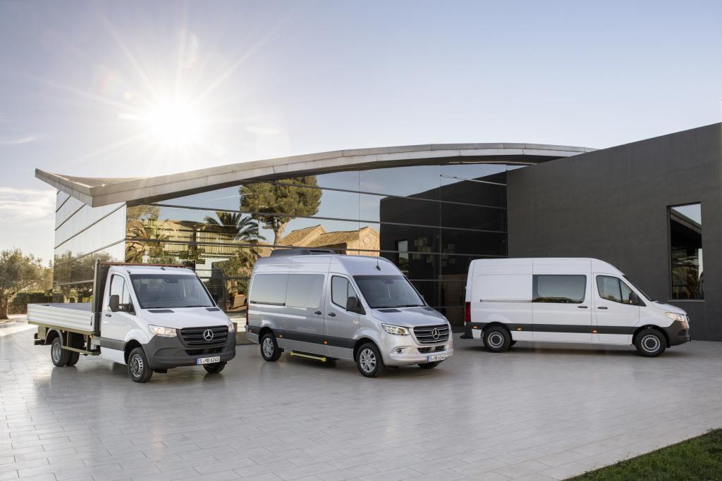 Mercedes-Benz Sprinter – La Gamma