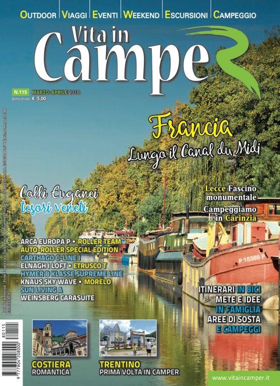 Copertina Vita in Camper 115