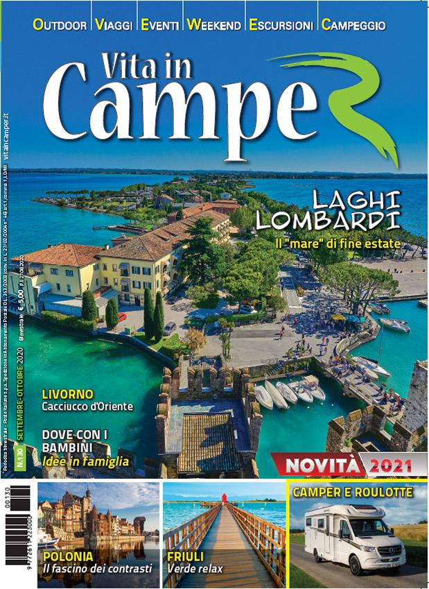 Copertina Vita in Camper 130