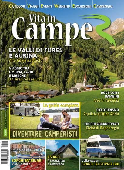 Copertina Vita in Camper 129