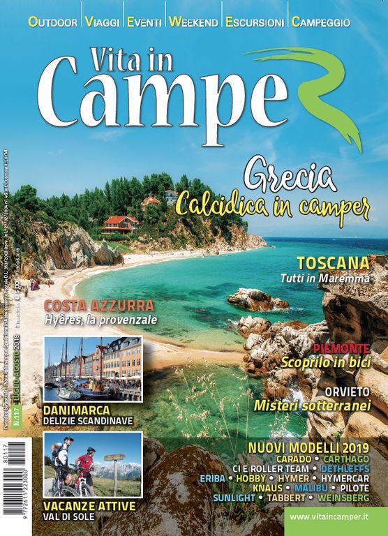 Copertina Vita in Camper 117