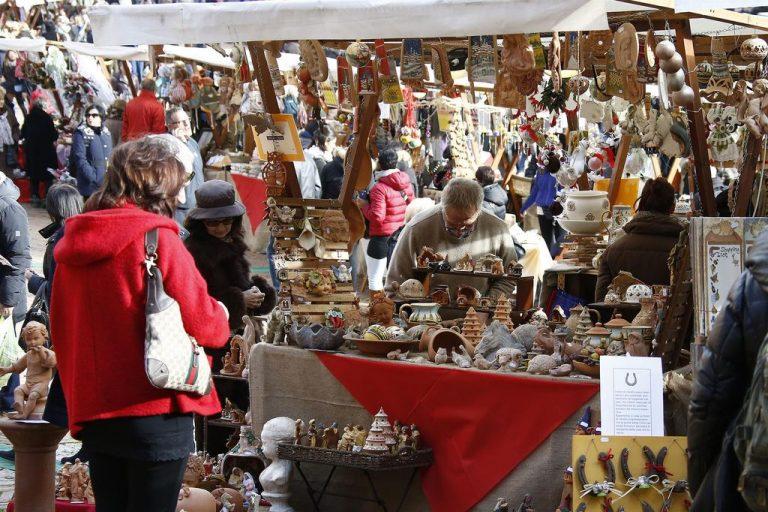 Dicembre a Siena con il Mercato nel Campo